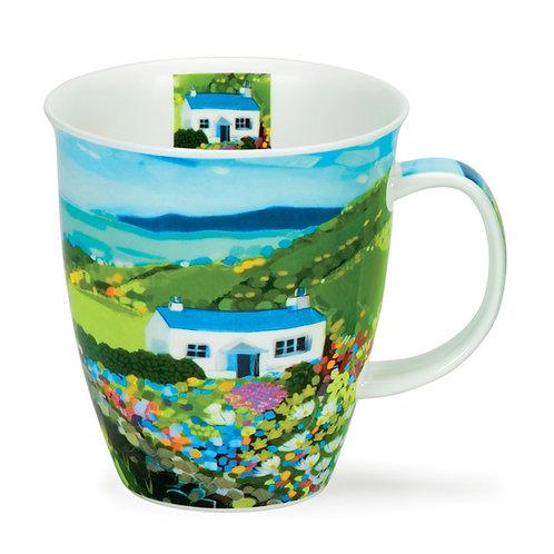 Nevis Sea View - Cottage Coffee and Tea Mug- Dunoon fine English bone china
