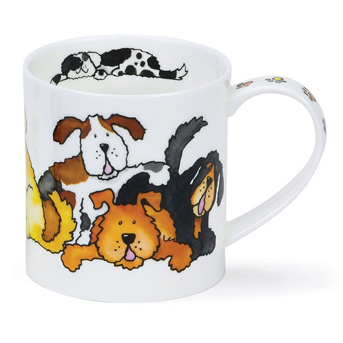 Orkney Jumbled Dogs - Dunoon fine English bone china