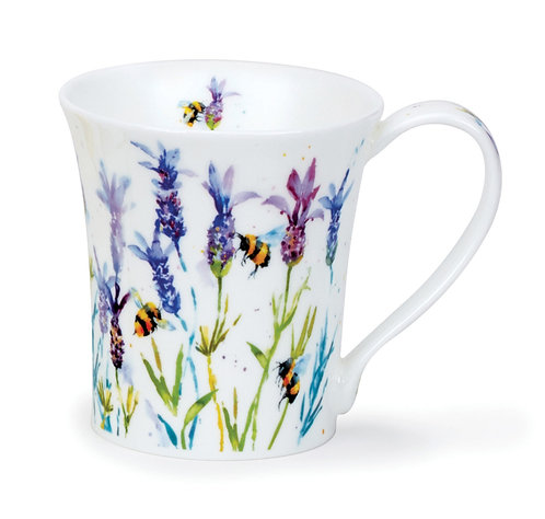 Jura Busy Bees - Lavender - Coffee and Tea Mug- Dunoon fine English bone china