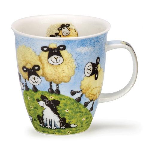 Nevis Sheepies - Hilltop Coffee and Tea Mug- Dunoon fine English bone china