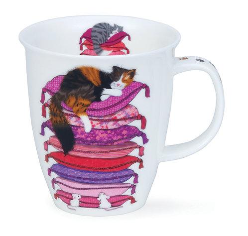 Nevis Sleep Cats - Dunoon fine English bone china