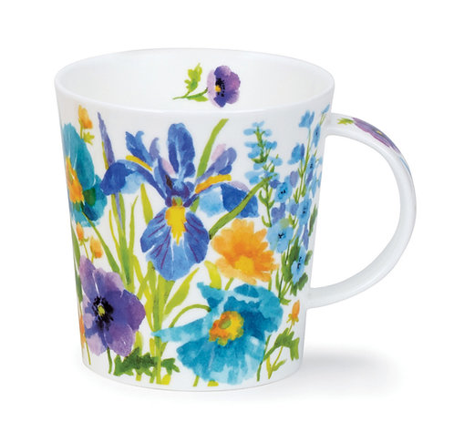 Lomond Kelmscott - Blue - Dunoon fine English bone china