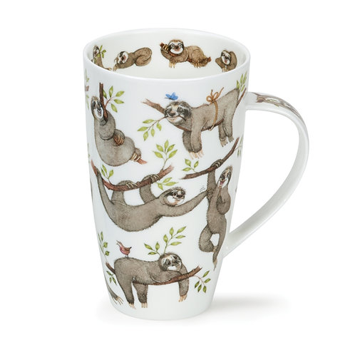 Henley It's a Sloth's Life Coffee and Tea Mug- Dunoon fine English bone china