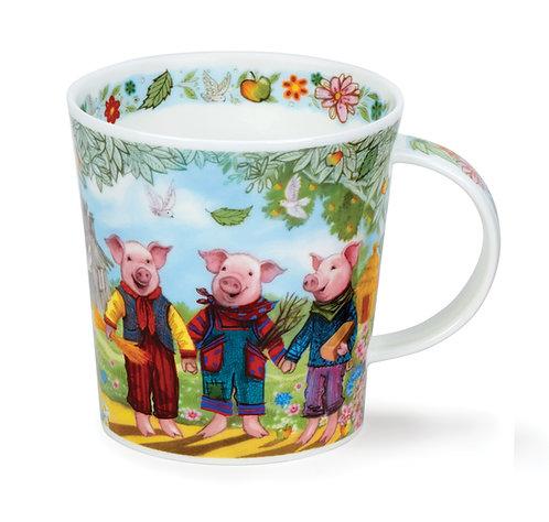 Lomond Fairy Tales III - 3 Little Pigs - Dunoon fine English bone china