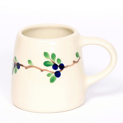 Handpainted Pottery Mug -  Classic Collection