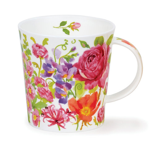 Lomond Kelmscott - Pink - Dunoon fine English bone china
