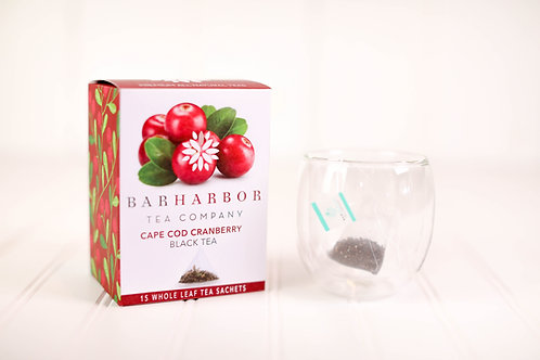 Cape Cod Cranberry Black Teabags