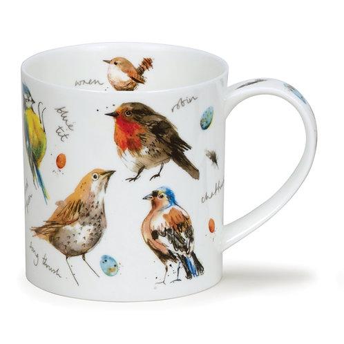Orkney Garden Birds - Dunoon fine English bone china