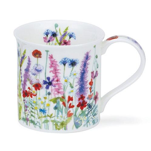 Bute Floral Haze – Multi - Dunoon fine English bone china