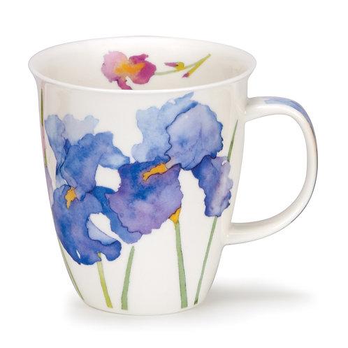 Nevis Flora - Iris - Dunoon fine English bone china