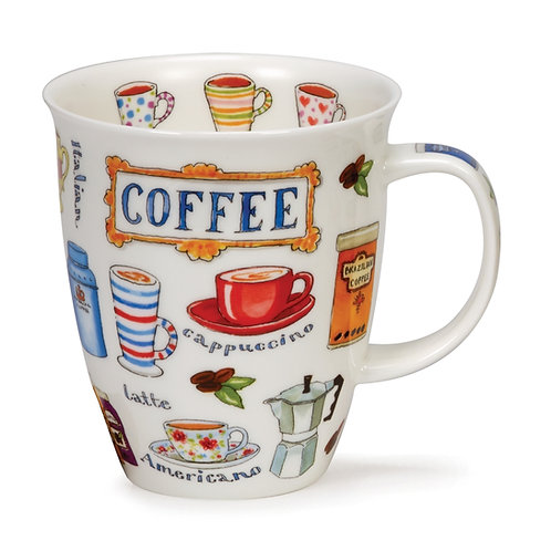 Nevis Coffee - Dunoon fine English bone china