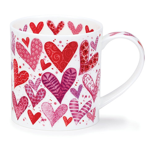 Orkney With Love - Red - Dunoon fine English bone china