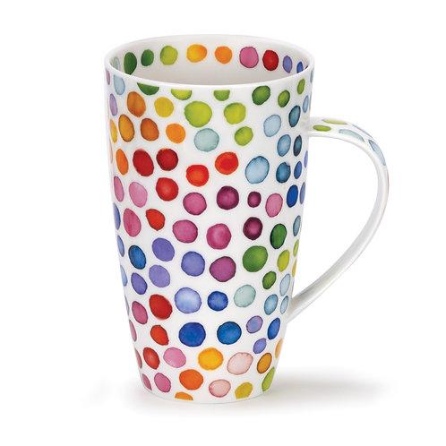 Henley Hot Spots Coffee and Tea Mug- Dunoon fine English bone china