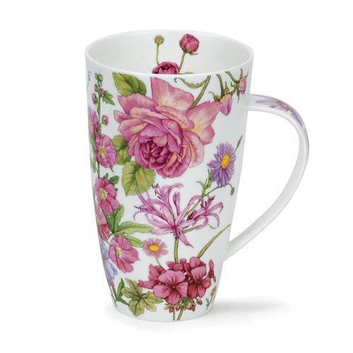 Henley Shafetsbury Pink Coffee and Tea Mug- Dunoon fine English bone china