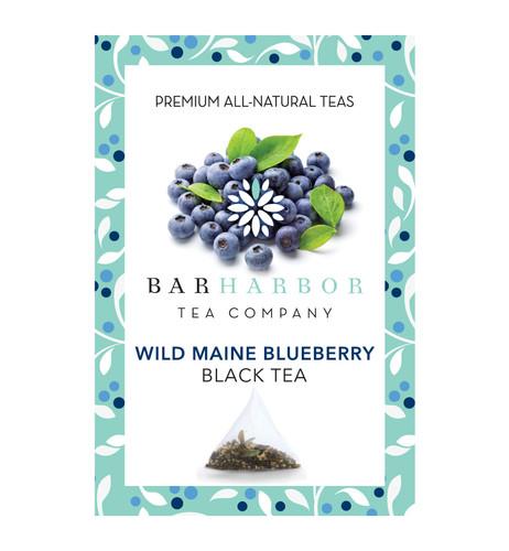 Wild Blueberry Black Teabags