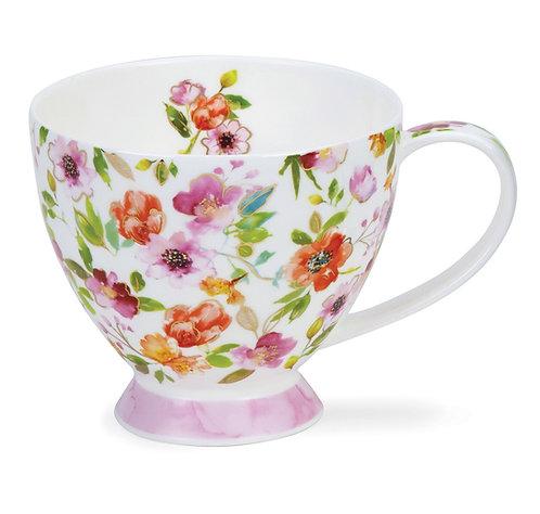 Skye Fleurs Pink- Dunoon fine English bone china