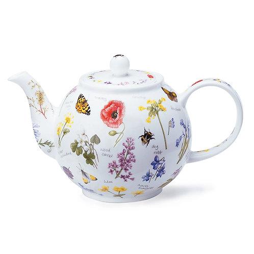 Wayside Teapot - Dunoon fine English bone china