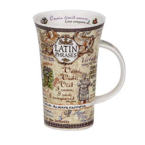 Glencoe Latin Phrases - Dunoon fine English bone china