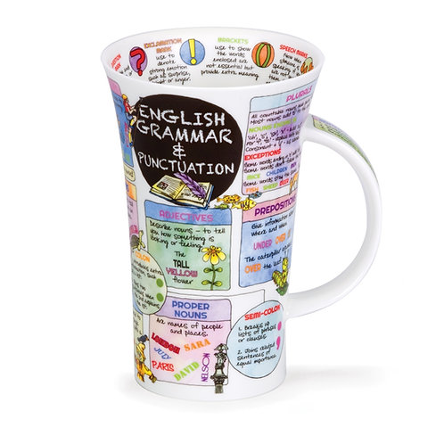 Glencoe English Grammar - Dunoon fine English bone china