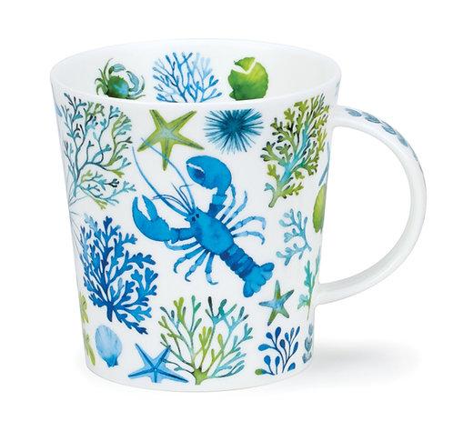 Lomond Under the Sea - Blue - Dunoon fine English bone china