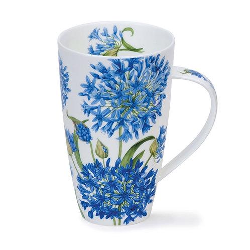Henley Agapanthus Coffee and Tea Mug- Dunoon fine English bone china