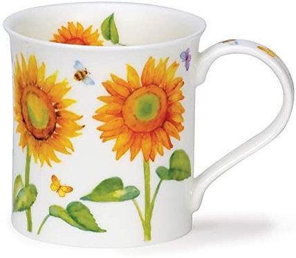 Bute Beau Jardin - Sunflower - Dunoon fine English bone china