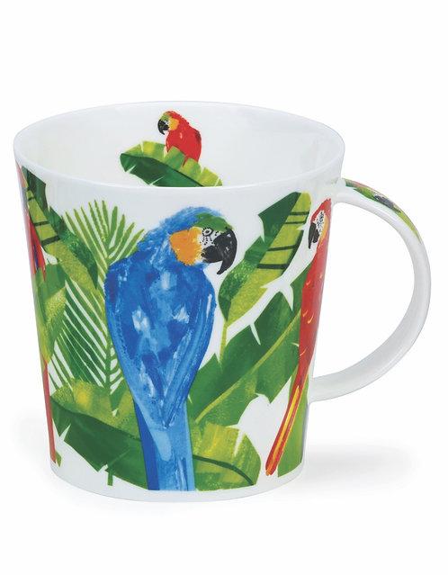 Cairngorm Macaw Merengue- Dunoon fine English bone china