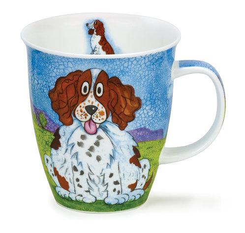 Nevis Happy Dogs Spaniel- Dunoon fine English bone china