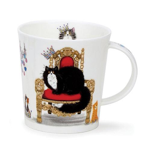 Lomond Regal Cats - Black & White - Dunoon fine English bone china