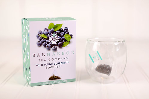 Wild Blueberry Black Teabags
