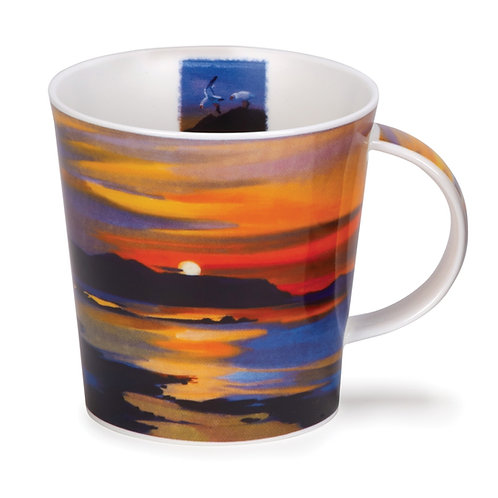 Cairngorm Red Skies - Sunset - Dunoon fine English bone china