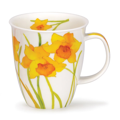 Nevis Flora - Daffodil - Dunoon fine English bone china