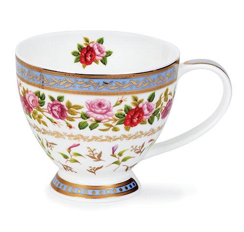 Skye Roseanne Blue- Dunoon fine English bone china