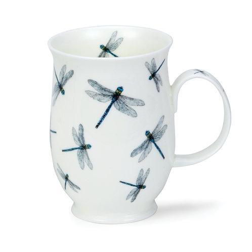 Suffolk Bugs- Dragonfly Coffee and Tea Mug- Dunoon fine English bone china