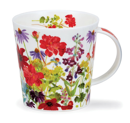 Cairngorm Cottage Border Red- Dunoon fine English bone china