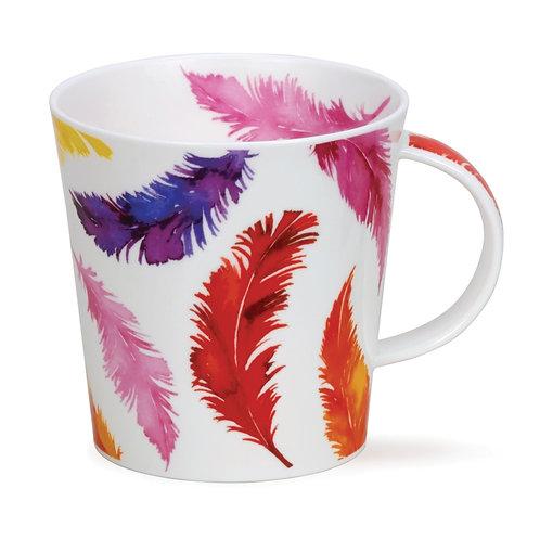 Cairngorm Tickle! Red Coffee and Tea Mug- Dunoon fine English bone china
