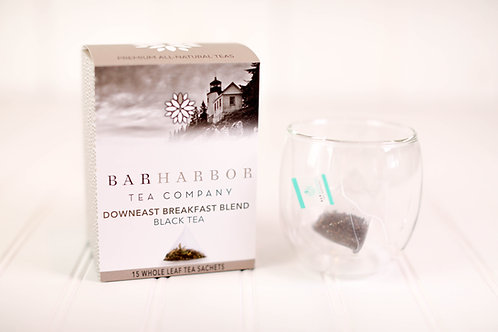 Downeast Breakfast Blend Black Teabags