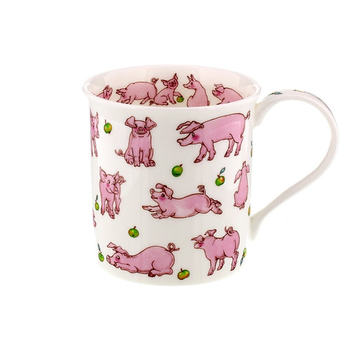 Bute Animals Galore - Pig - Dunoon fine English bone china