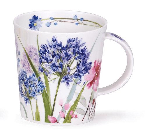 Lomond Wild Garden Agapanthus - Dunoon fine English bone china