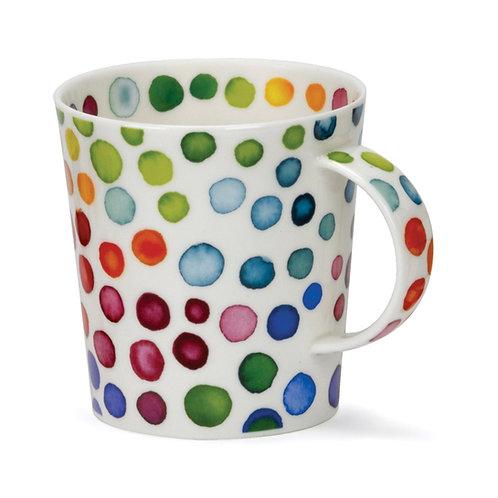 Lomond Hot Spots Coffee and Tea Mug- Dunoon fine English bone china