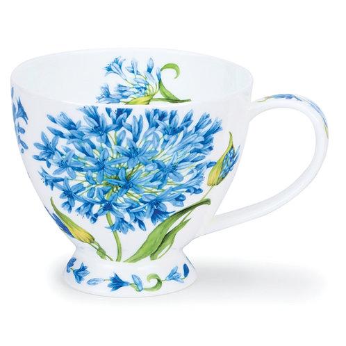 Skye Agapanthus Coffee and Tea Mug- Dunoon fine English bone china