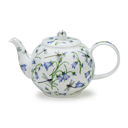 Dovedale Harebelle Teapot - Dunoon fine English bone china