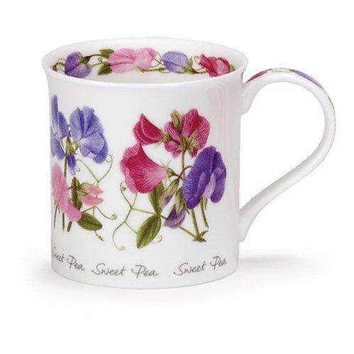 Bute Summer Flowers – Sweet Peas - Dunoon fine English bone china