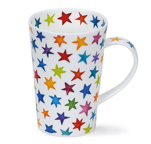 Shetland Starburst Coffee and Tea Mug- Dunoon fine English bone china