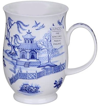 Suffolk Oriental Blue - Fence - Dunoon fine English bone china