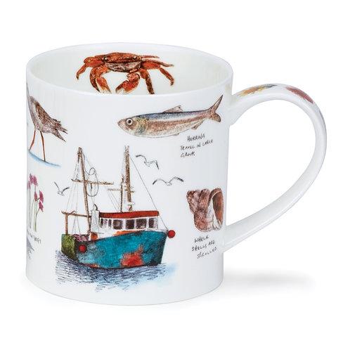 Orkney Seaside Notebook - Fish Boat - offee and Tea Mug- Dunoon fine English bone china