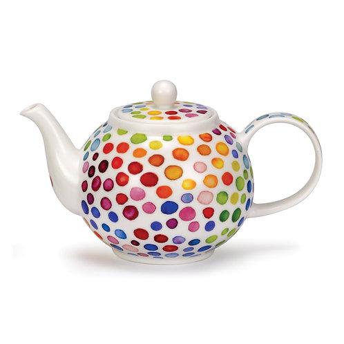 Hot Spots Teapot - Dunoon fine English bone china