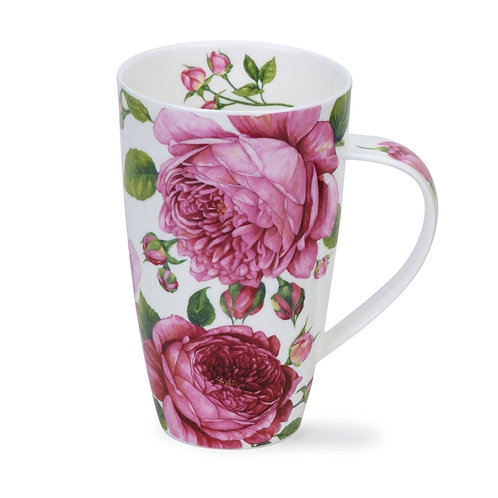 Henley Rosabunda Coffee and Tea Mug- Dunoon fine English bone china