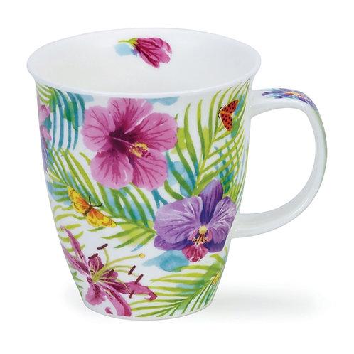 Nevis Tropicana - Pink - Dunoon fine English bone china