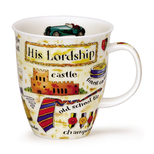 Nevis His Lordship Coffee and Tea Mug- Dunoon fine English bone china